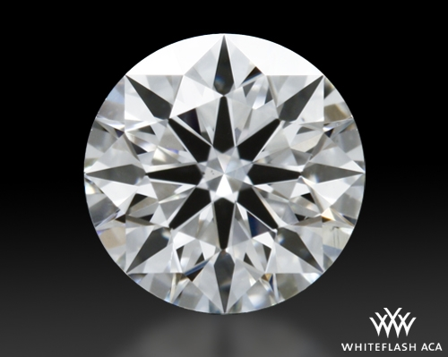 0.431 ct H VS2 A CUT ABOVE® Hearts and Arrows Super Ideal Round Cut Loose Diamond