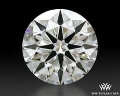 0.463 ct H VS1 A CUT ABOVE® Hearts and Arrows Super Ideal Round Cut Loose Diamond