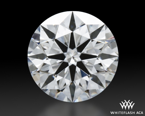 0.465 ct F SI1 A CUT ABOVE® Hearts and Arrows Super Ideal Round Cut Loose Diamond
