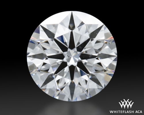 0.465 ct D SI1 A CUT ABOVE® Hearts and Arrows Super Ideal Round Cut Loose Diamond