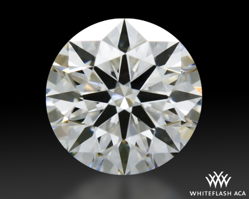 0.467 ct G VS1 A CUT ABOVE® Hearts and Arrows Super Ideal Round Cut Loose Diamond
