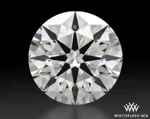 0.466 ct H VS1 A CUT ABOVE® Hearts and Arrows Super Ideal Round Cut Loose Diamond