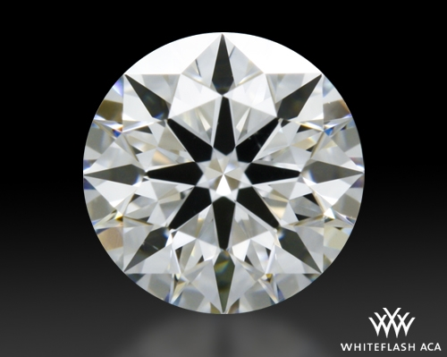 0.463 ct F VS2 A CUT ABOVE® Hearts and Arrows Super Ideal Round Cut Loose Diamond