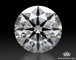 0.465 ct G SI1 A CUT ABOVE® Hearts and Arrows Super Ideal Round Cut Loose Diamond