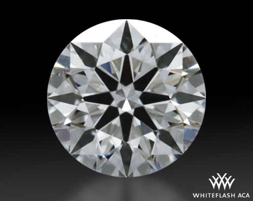 0.472 ct G VS2 A CUT ABOVE® Hearts and Arrows Super Ideal Round Cut Loose Diamond