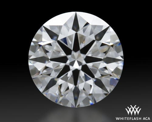0.472 ct D VVS1 A CUT ABOVE® Hearts and Arrows Super Ideal Round Cut Loose Diamond