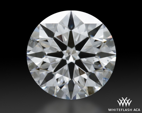 0.477 ct G SI1 A CUT ABOVE® Hearts and Arrows Super Ideal Round Cut Loose Diamond