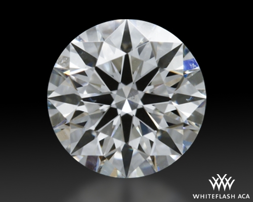 0.485 ct G VS2 A CUT ABOVE® Hearts and Arrows Super Ideal Round Cut Loose Diamond