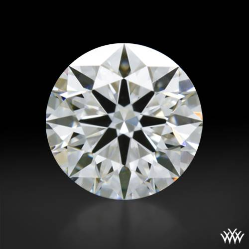0.505 ct F VS1 A CUT ABOVE® Hearts and Arrows Super Ideal Round Cut Loose Diamond
