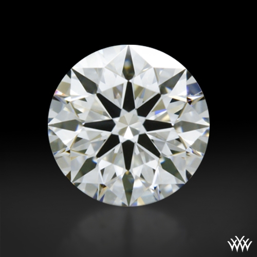 0.507 ct G VS1 A CUT ABOVE® Hearts and Arrows Super Ideal Round Cut Loose Diamond