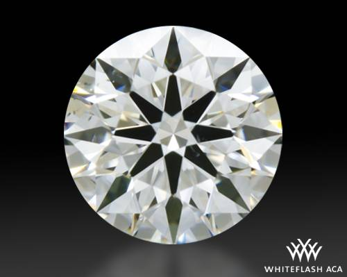 0.51 ct G SI1 A CUT ABOVE® Hearts and Arrows Super Ideal Round Cut Loose Diamond