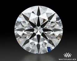 0.506 ct H SI1 A CUT ABOVE® Hearts and Arrows Super Ideal Round Cut Loose Diamond