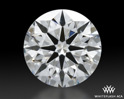 0.508 ct H SI1 A CUT ABOVE® Hearts and Arrows Super Ideal Round Cut Loose Diamond
