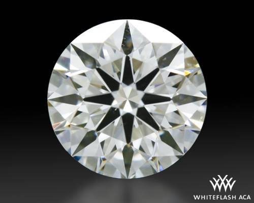 0.513 ct H SI1 A CUT ABOVE® Hearts and Arrows Super Ideal Round Cut Loose Diamond