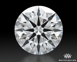 0.518 ct F VS1 A CUT ABOVE® Hearts and Arrows Super Ideal Round Cut Loose Diamond