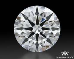 0.511 ct F SI1 A CUT ABOVE® Hearts and Arrows Super Ideal Round Cut Loose Diamond