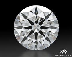 0.514 ct I SI1 A CUT ABOVE® Hearts and Arrows Super Ideal Round Cut Loose Diamond