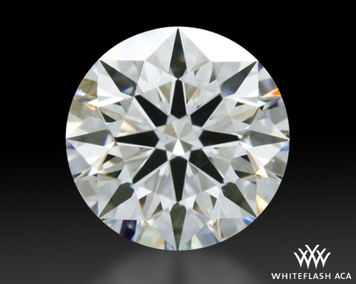 0.52 ct G SI1 A CUT ABOVE® Hearts and Arrows Super Ideal Round Cut Loose Diamond