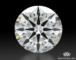 0.511 ct E VS1 A CUT ABOVE® Hearts and Arrows Super Ideal Round Cut Loose Diamond