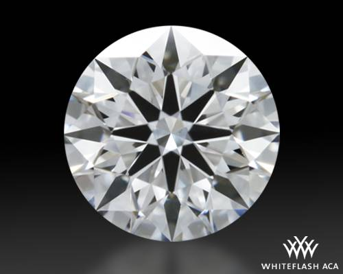 0.515 ct F VS1 A CUT ABOVE® Hearts and Arrows Super Ideal Round Cut Loose Diamond
