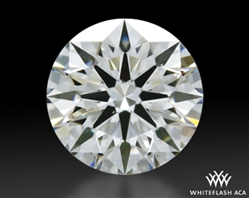 0.523 ct G VS2 A CUT ABOVE® Hearts and Arrows Super Ideal Round Cut Loose Diamond