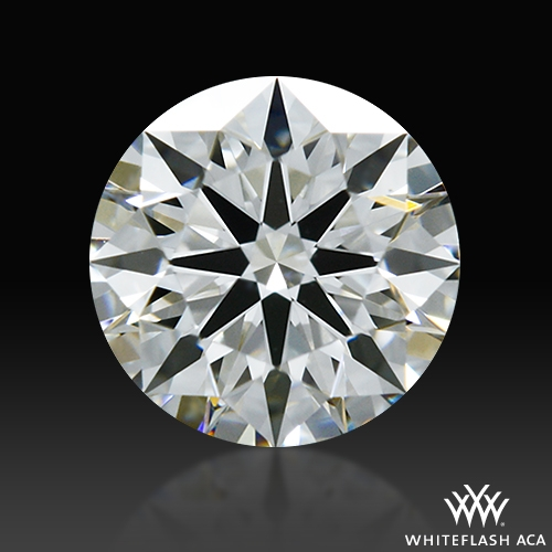 0.534 ct F VS1 A CUT ABOVE® Hearts and Arrows Super Ideal Round Cut Loose Diamond