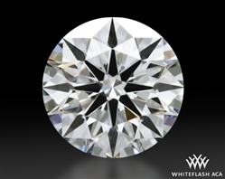 0.606 ct F VS1 A CUT ABOVE® Hearts and Arrows Super Ideal Round Cut Loose Diamond