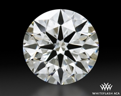 0.604 ct H VS1 A CUT ABOVE® Hearts and Arrows Super Ideal Round Cut Loose Diamond