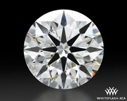 0.605 ct F SI1 A CUT ABOVE® Hearts and Arrows Super Ideal Round Cut Loose Diamond