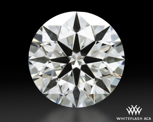 0.605 ct I SI1 A CUT ABOVE® Hearts and Arrows Super Ideal Round Cut Loose Diamond