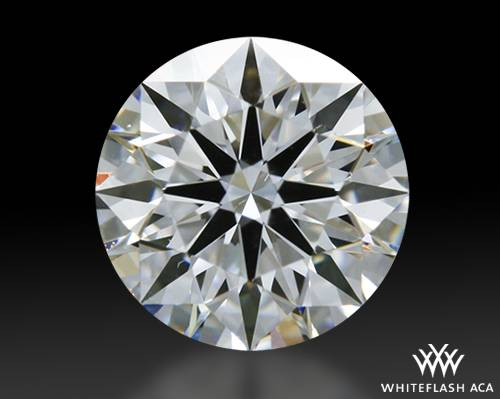 0.61 ct D SI1 A CUT ABOVE® Hearts and Arrows Super Ideal Round Cut Loose Diamond