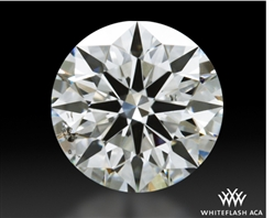 0.614 ct H SI1 A CUT ABOVE® Hearts and Arrows Super Ideal Round Cut Loose Diamond