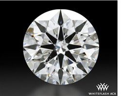 0.63 ct F SI1 A CUT ABOVE® Hearts and Arrows Super Ideal Round Cut Loose Diamond