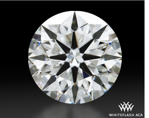 0.635 ct G SI1 A CUT ABOVE® Hearts and Arrows Super Ideal Round Cut Loose Diamond