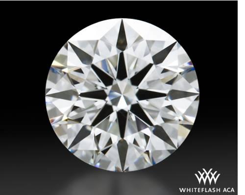 0.648 ct E VS2 A CUT ABOVE® Hearts and Arrows Super Ideal Round Cut Loose Diamond
