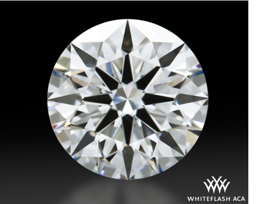 0.648 ct E VS2 A CUT ABOVE® Hearts and Arrows Super Ideal Round Cut Loose Diamond