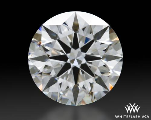 0.638 ct F VS1 A CUT ABOVE® Hearts and Arrows Super Ideal Round Cut Loose Diamond