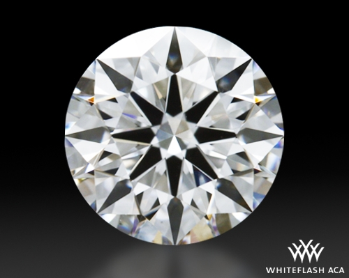 0.66 ct E VS2 A CUT ABOVE® Hearts and Arrows Super Ideal Round Cut Loose Diamond