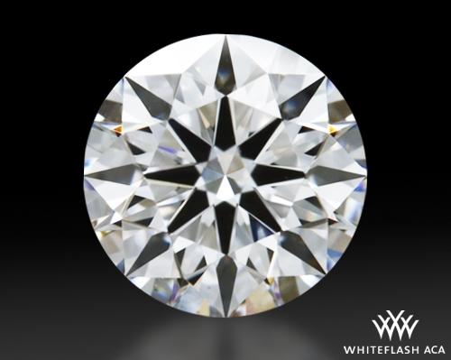 0.66 ct E VS2 A CUT ABOVE® Hearts and Arrows Super Ideal Round Cut Loose Diamond