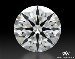 0.304 ct D VVS1 A CUT ABOVE® Hearts and Arrows Super Ideal Round Cut Loose Diamond