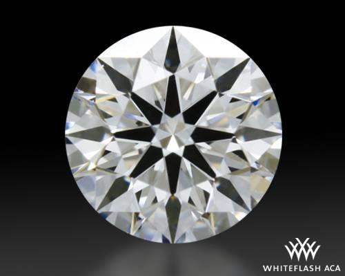 0.317 ct E VVS2 A CUT ABOVE® Hearts and Arrows Super Ideal Round Cut Loose Diamond