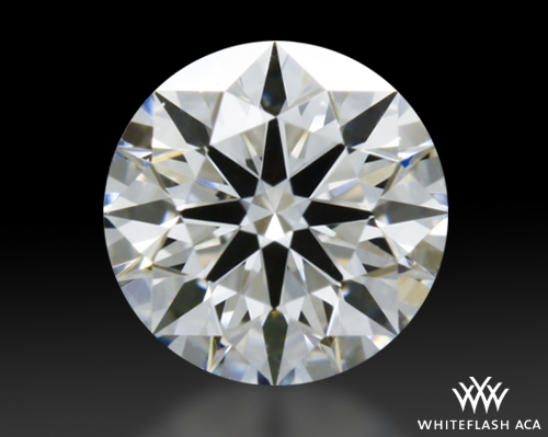 0.317 ct E VVS2 A CUT ABOVE® Hearts and Arrows Super Ideal Round Cut Loose Diamond