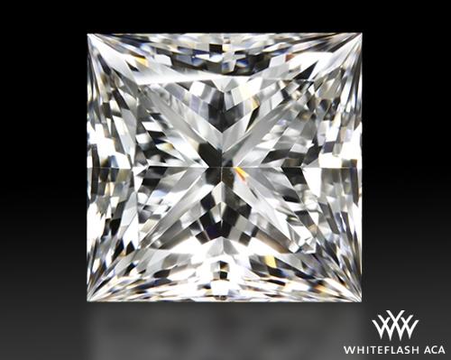 0.933 ct F VS1 A CUT ABOVE® Princess Super Ideal Cut Diamond
