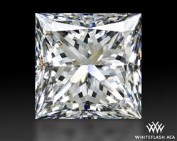1.604 ct G SI1 A CUT ABOVE® Princess Super Ideal Cut Diamond