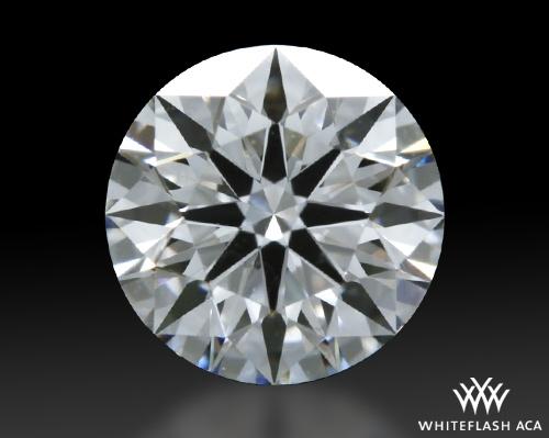 0.608 ct D VVS2 A CUT ABOVE® Hearts and Arrows Super Ideal Round Cut Loose Diamond
