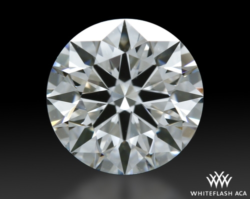 1.325 ct G VS1 A CUT ABOVE® Hearts and Arrows Super Ideal Round Cut Loose Diamond