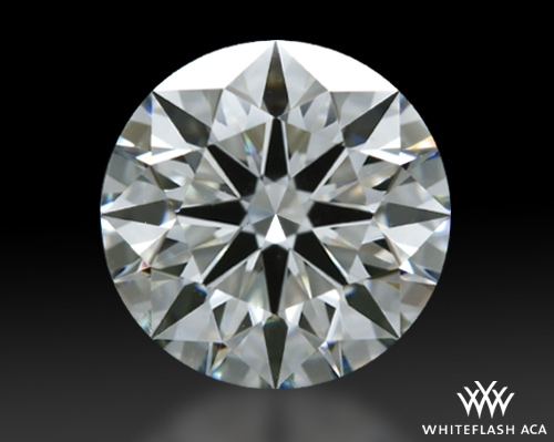 1.371 ct I VS1 A CUT ABOVE® Hearts and Arrows Super Ideal Round Cut Loose Diamond