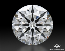 0.811 ct E VS1 A CUT ABOVE® Hearts and Arrows Super Ideal Round Cut Loose Diamond
