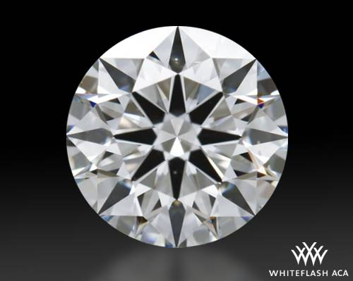 0.853 ct G VS2 A CUT ABOVE® Hearts and Arrows Super Ideal Round Cut Loose Diamond