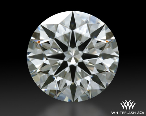 0.82 ct J VS2 A CUT ABOVE® Hearts and Arrows Super Ideal Round Cut Loose Diamond